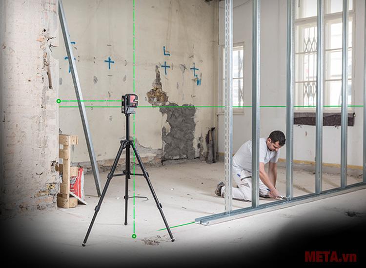 Tia laser xanh mạnh, độ bền cao đảm bảo hiệu quả hoạt động