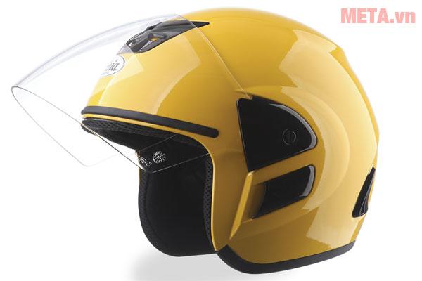 Mũ bảo hiểm MT-119 vàng bóng