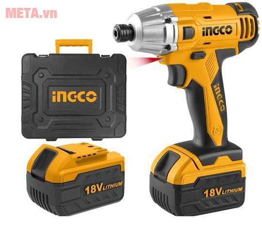 Máy siết vít dùng pin INGCO CIDLI228181