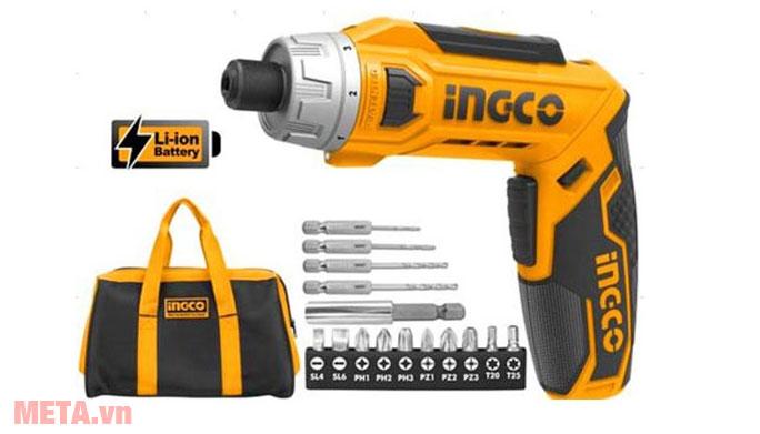 Máy siết vít dùng pin INGCO CSDLI0801