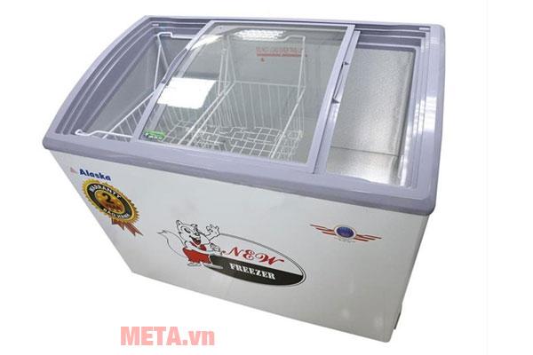 Kính cong giúp tăng không gian lưu trữ cho tủ