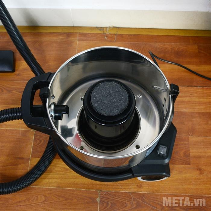 Bộ lọc tiêu chuẩn đảm bảo hút sạch bụi