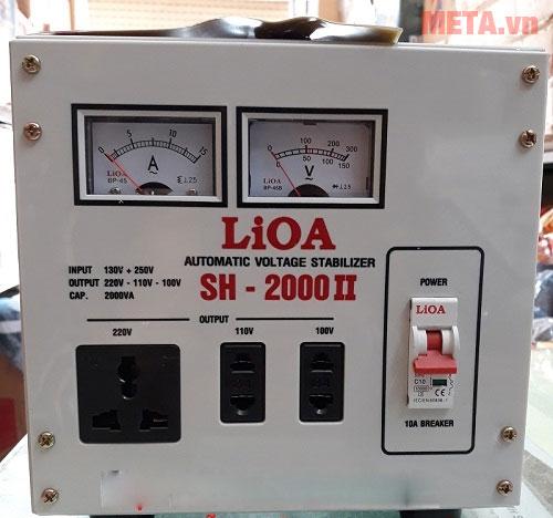 Ổn áp 1 pha Lioa 2KVA SH 2000
