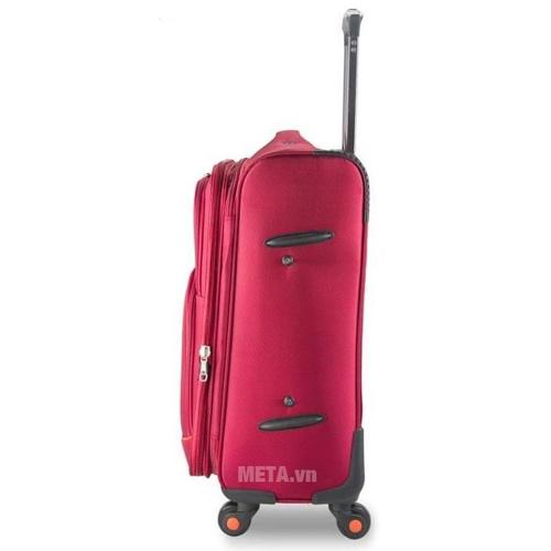 Vali vải cao cấp VLX020 24 inch màu đỏ