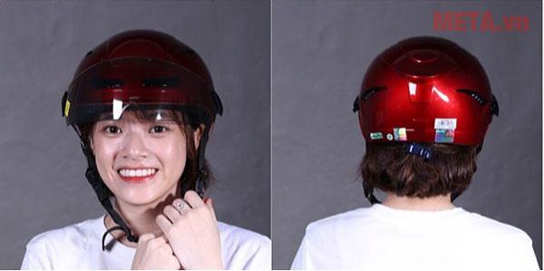 Chiếc mũ vừa thời trang vừa an toàn