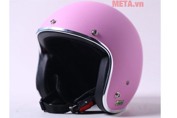 Mũ bảo hiểm Chita màu hồng