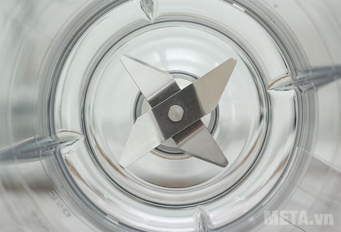 Lưỡi dao sắc bén của máy xay sinh tố Philips HR2056