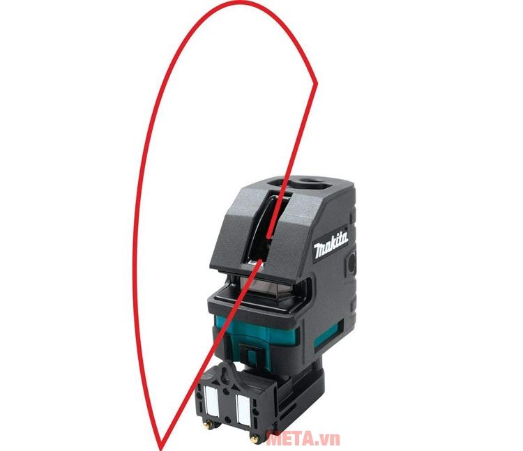 Tia laser có thể điều chỉnh lên xuống trái phải