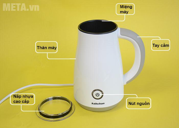 Cấu tạo máy đánh sữa đa năng