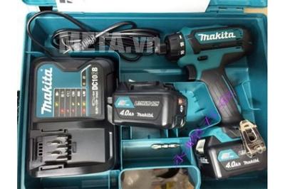 Máy khoan vặn vít dùng pin Makita DF031DSYE