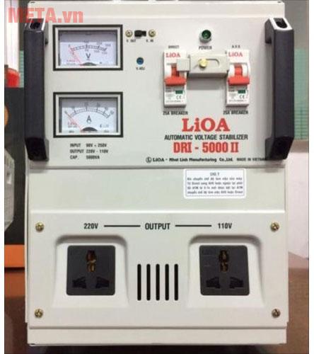 Ổn áp 1 pha Lioa 5KVA DRI 5000