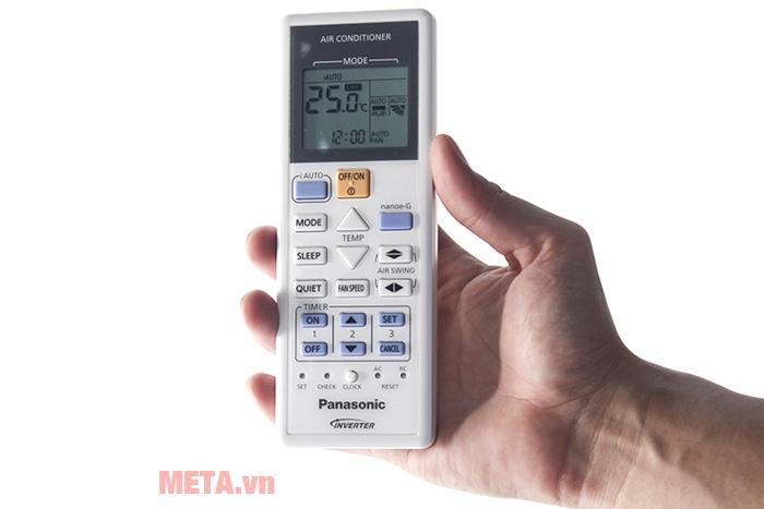 Điều hòa Panasonic Inverter 17600 BTU CU/CS-PU18TKH-8 có điều khiển từ xa tiện dụng