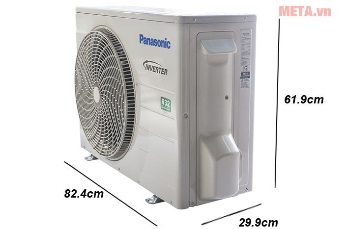 Kích thước cục nóng máy lạnh Panasonic