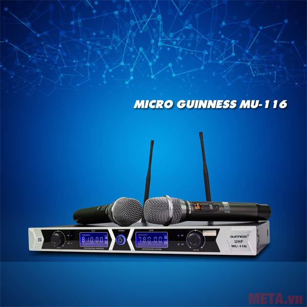 Hình ảnh micro Guinness MU- 116