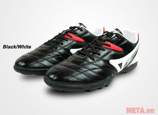 Giày đá bóng EBET 16910 màu black/white