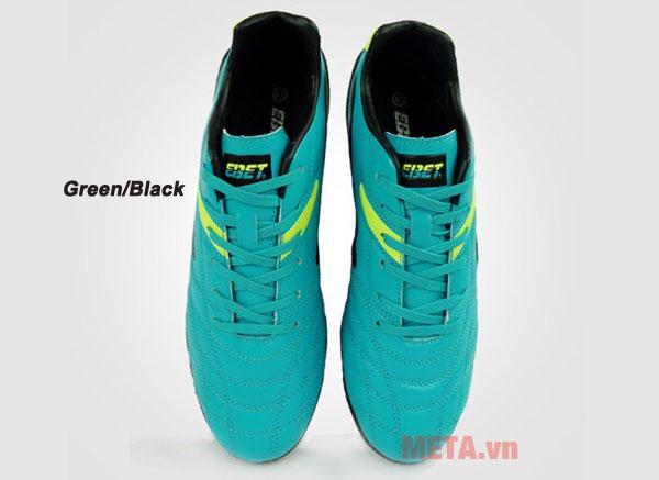 Giày đá bóng EBET 16910 màu green/black