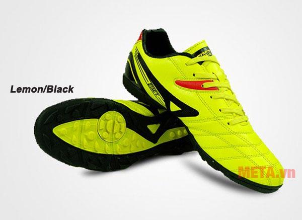 Giày đá bóng EBET 16910 màu lemon/black