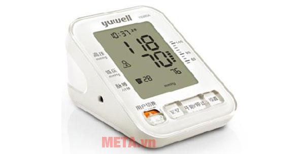Máy đo huyết áp có thiết kế nhỏ gọn