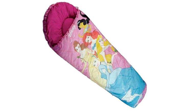 Túi ngủ trẻ em màu hồng