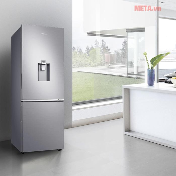 Tủ lạnh Samsung hai cửa ngăn đông dưới 276L RB27N4170S8/SV