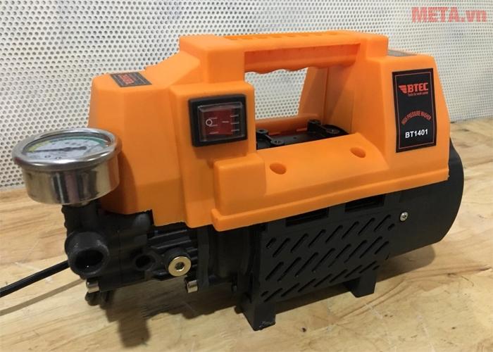 Máy xịt rửa BTEC BT1401 có thiết kế nhỏ gọn