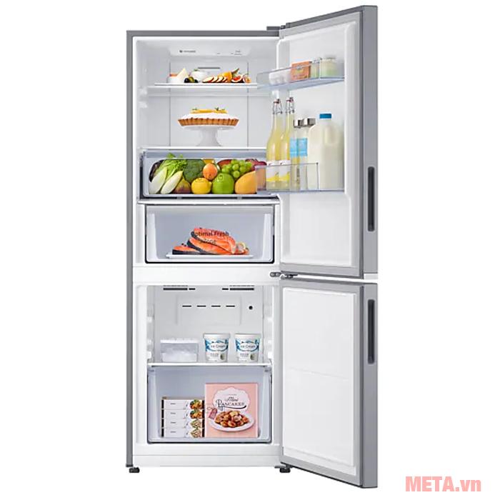 Tủ lạnh Samsung RB27N4010S8/SV có dung tích 280 lít