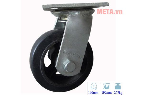 Bánh xe đẩy Ethos 491XRQ160P45