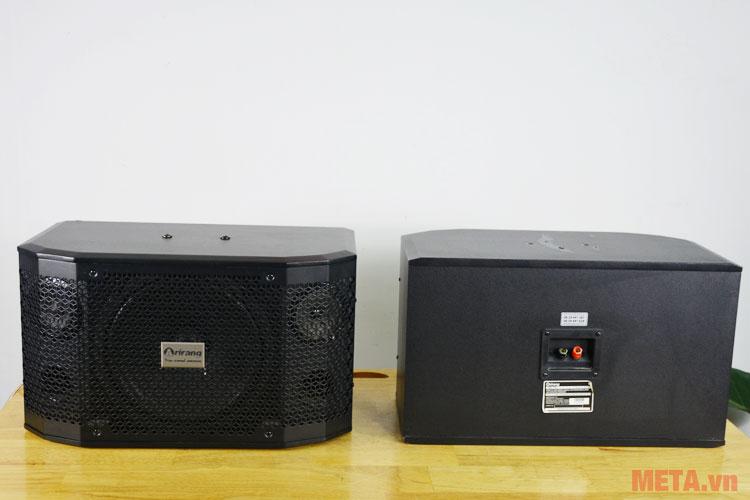 Hai loa hoạt động mạnh mẽ với công suất 420W
