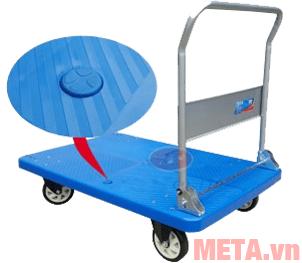 Hình ảnh xe đẩy hàng sàn nhựa XD450 (450kg)