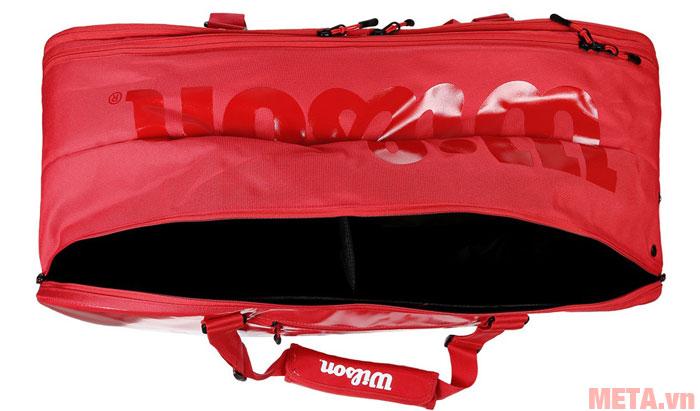 Túi có sức chứa 9 cây vợt
