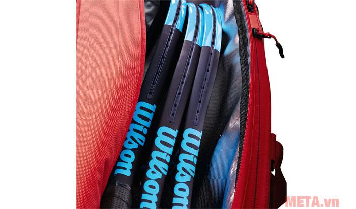 Túi được làm từ chất liệu 100% Polyester