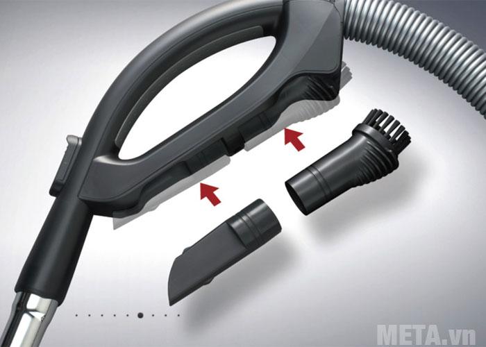 Các ống nối của máy hút bụi