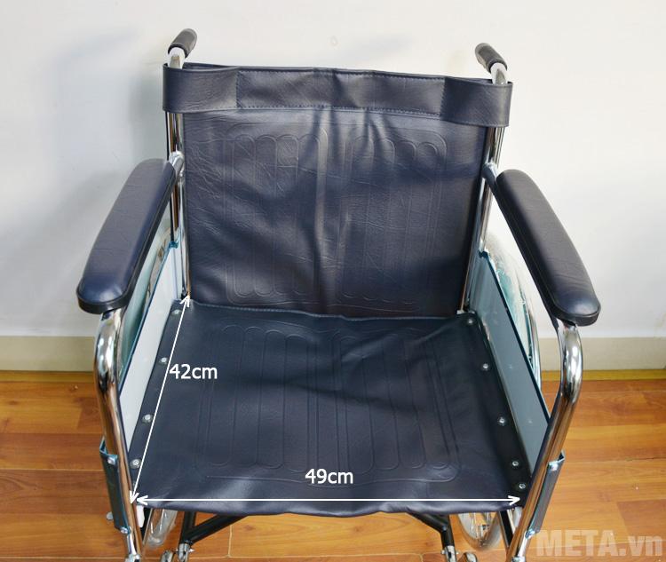 Kích thước ghế xe lăn