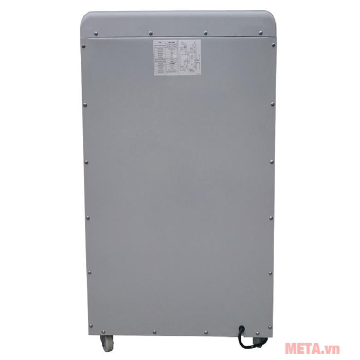 Máy hút ẩm công nghiệp Fujie HM-6105EB di chuyển dễ dàng nhờ bánh xe