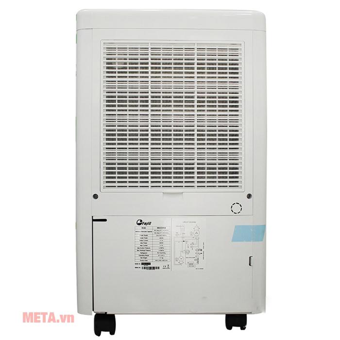 Máy hút ẩm FujiE HM-650EB hoạt động với độ ồn thấp