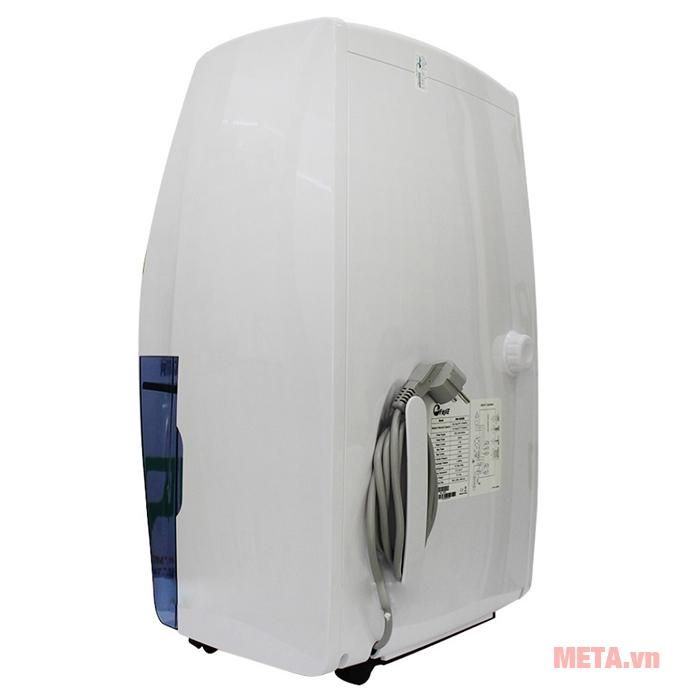 Máy hút ẩm dân dụng FujiE HM-620EB có bình chứa nước thải 6L