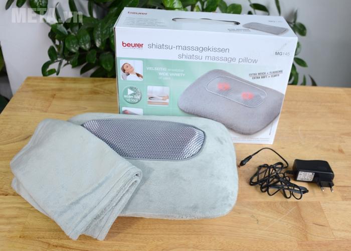 Bộ sản phẩm gối massage Beurer MG145