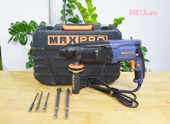 Máy khoan bê tông Maxpro MPRH800/26V màu xanh đen