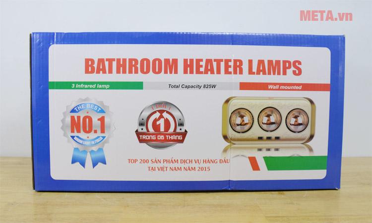 Đèn sưởi nhà tắm kèm hộp đựng