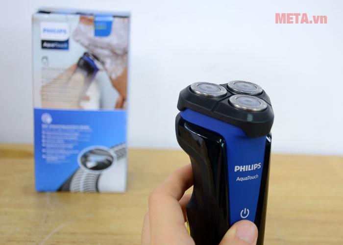 Máy cạo râu Philips S1030 sở hữu đầu bịt Aquatec bảo vệ da