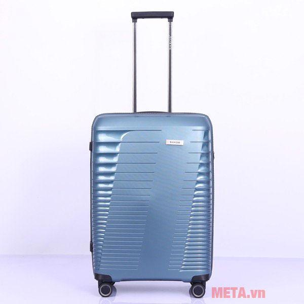 Vali nhựa Sakos khung dây kéo RAZOR Z30 màu xanh