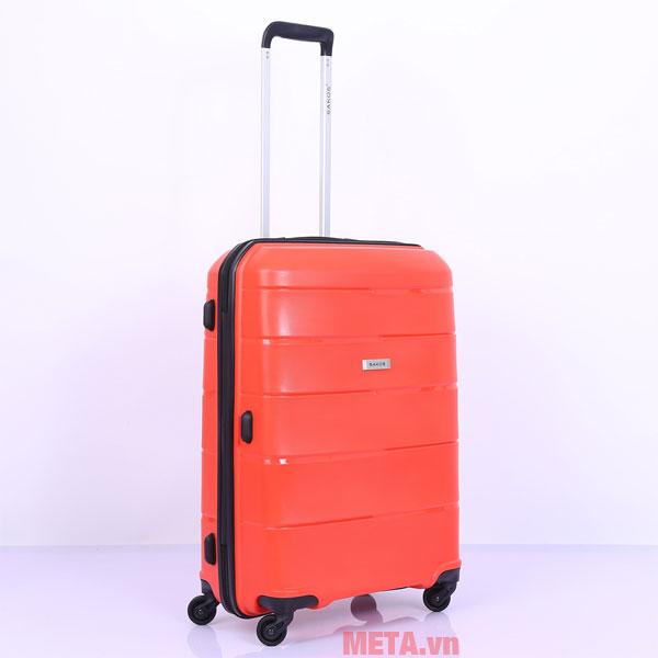 4 bánh xe giúp bạn di chuyển vali nhẹ nhàng