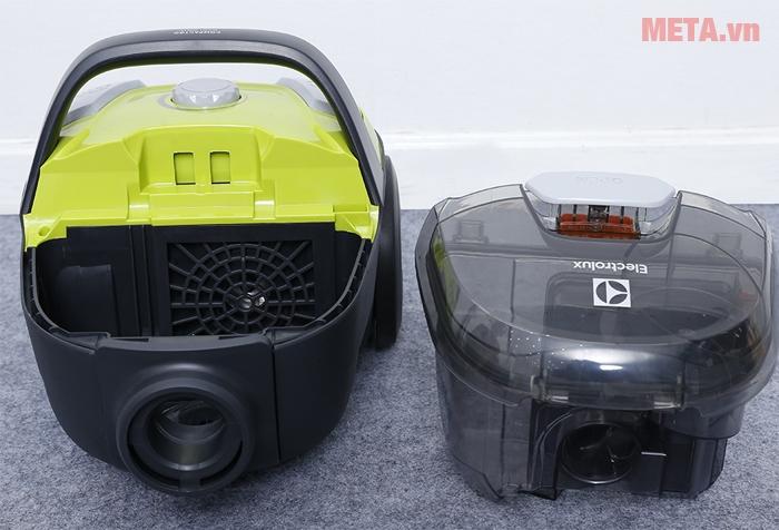 Máy hút bụi gia đình Electrolux Z1231 có thiết kế nhỏ gọn