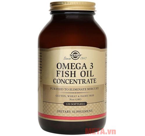 Hình ảnh thực phẩm chức năng Solgar Omega 3 Fish Oil Concentrate