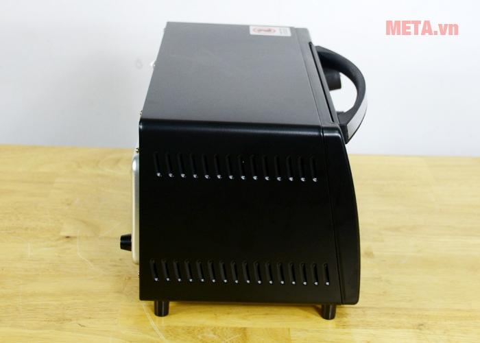 Lò nướng điện Sunhouse SHD4210 được làm bằng inox bền vĩnh cửu