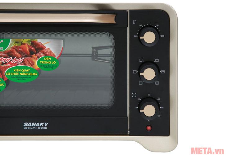 Bảng điều khiển lò nướng