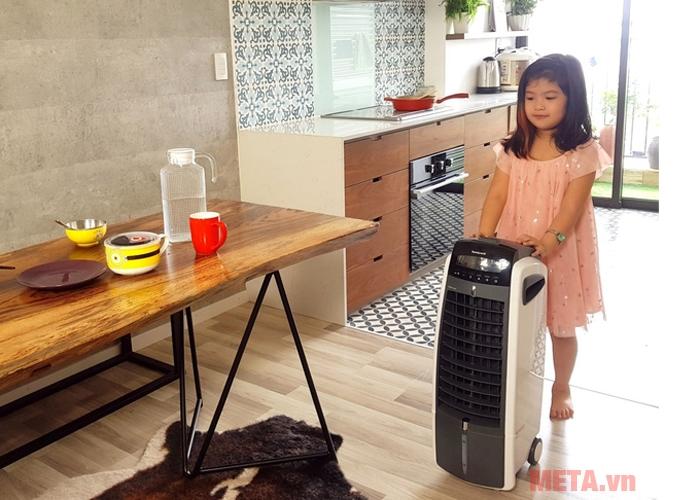 Quạt làm mát Honeywell ES800 an toàn với gia đình có trẻ nhỏ