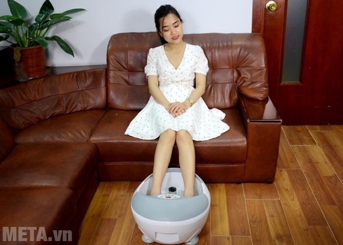 Bồn massage chân Beurer FB-50 giúp thư giãn, xua tan đau mỏi