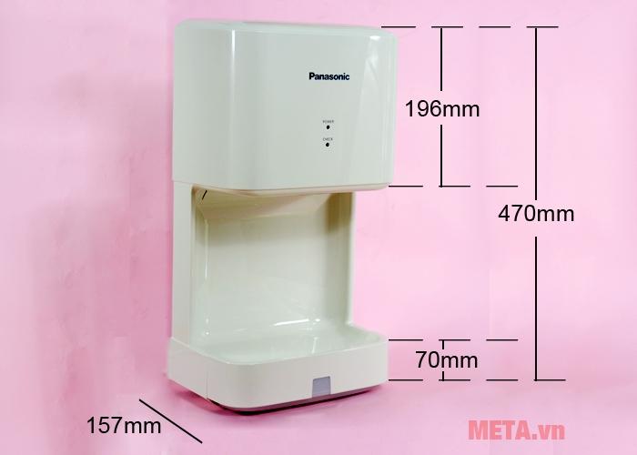 Kích thước máy sấy tay Panasonic FJ-T09A3