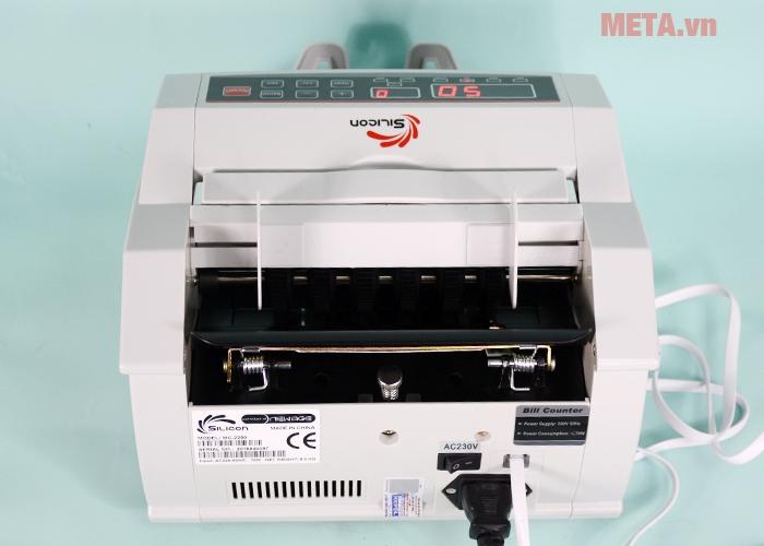 Máy đếm tiền thế hệ mới Silicon MC-2200 có chức năng phát hiện tiền giả